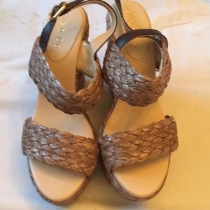 Woven straw Sandal from ANTHROPOLOGY never worn